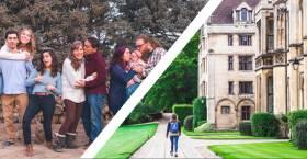 Estudiar un curso escolar en el extranjero: elegir entre alojamiento en familia o en internado